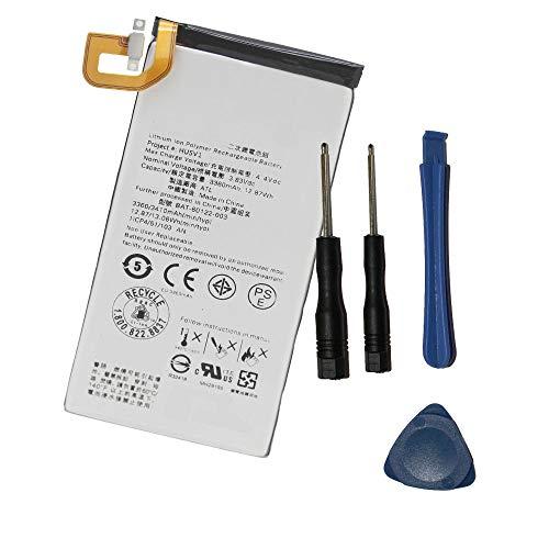 Powerforlaptop Internal Replacement Battery for BlackBerry PRIV BAT-60122-003 STV-100 3360mAh 3.83V
