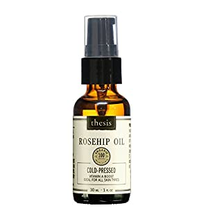 Pure Cold Pressed Raw Organic Rosehip Oil by Thesis Beauty