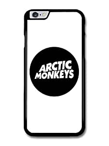 "AMAF ? Accessories Arctic Monkeys Rock Band Rounded Logo Case For Iphone 5C Cover (5.5"")"