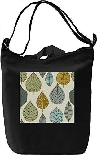 Autumn Leafs Pattern Borsa Giornaliera Canvas Canvas Day Bag| 100% Premium Cotton Canvas| DTG Printing|