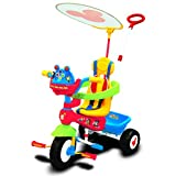 Kiddieland Toys Disney Mickey Mouse Clubhouse Push N' Ride Trike
