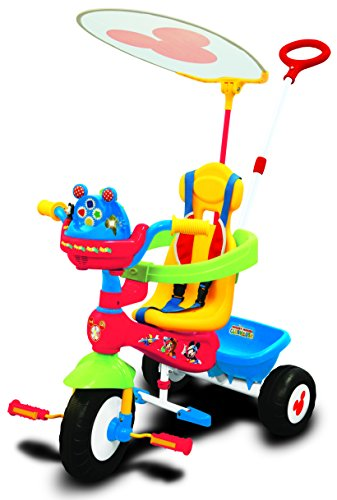 Kiddieland Disney Mickey Mouse Clubhouse Push N' Ride - Trike Ride