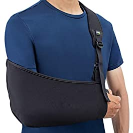 Think Ergo Arm Sling Air – Lightweight, Breathable, Ergonomically Designed Medical Sling for Broken & Fractured Bones – Adjustable Arm, Shoulder & Rotator Cuff Support