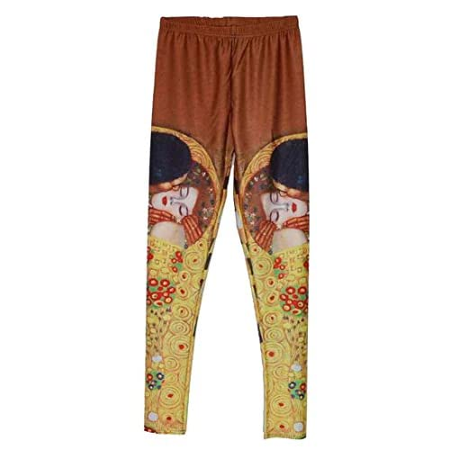 c5f03b0db55ff Winwinus Girls Running Pants Stretch Navajo Floral Yoga Capri Legging best