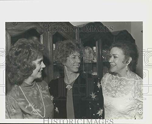 1986 Press Photo Marcia Harris with Mary Ellen Matthews and Naomi Russell, Texas