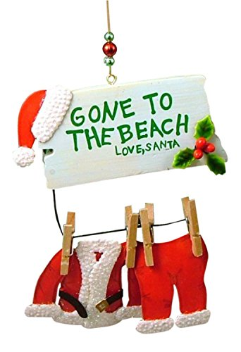 Cape Shore Santa Gone to The Beach Christmas ()