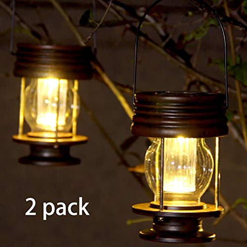Hanging Solar Lights 2 Pack