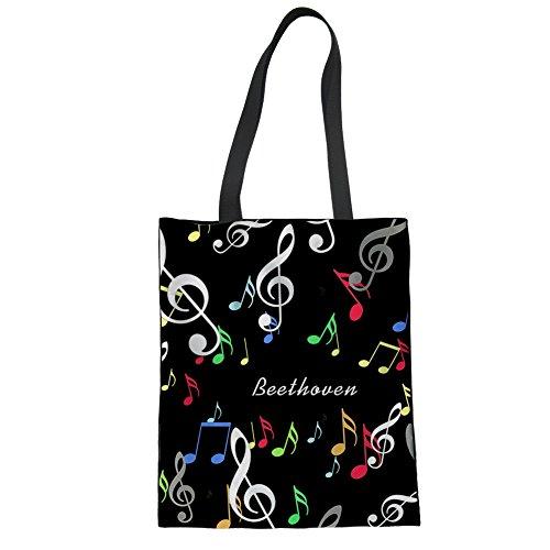 pattern piano piano Bolsa de pattern K Coloranimal 4 de tela playa 6 y CC6196Z22 Multicolor dqYwxOax7