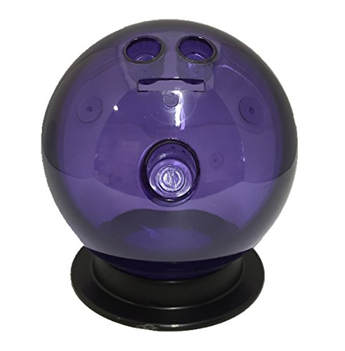 Sierra Novelty Bowling Stuff Bowling Ball Coin Bank with Stand (Purple) -