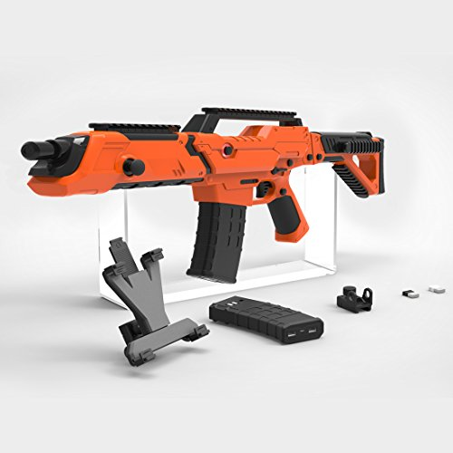 VR Bluetooth Game Gun for HTC VIVE,Game Pad Shooting Controller TPS FPS with Motor Vibration for 4 to 6 Inch Smartphone iPhone Samsung Tablet iPad Wireless Android,BENEVE(Orange) by BENEVE (Image #4)