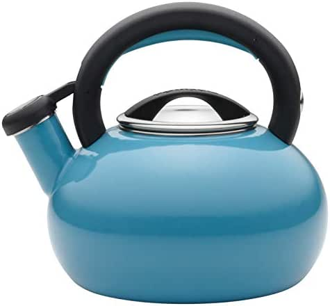 Circulon 2-Quart Sunrise Teakettle, Turquoise - 56522