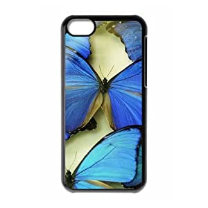 Butterfly The Unique Printing Art Custom Phone Case for Iphone 5C,diy cover case ygtg523438