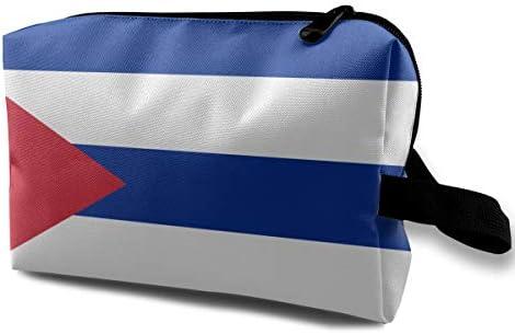 Bolso cosmético para mujer, Estuche para lápices con la bandera del Estado soberano: Amazon.es: Belleza