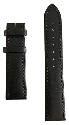 Movado Black Leather Band Strap For Movado Men's 1881 Automatic Watch Models: 0606873, 0606874, 0606875 -  569402190