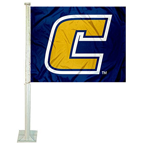 College Flags and Banners Co. Tennessee Chattanooga Mocs Car Flag