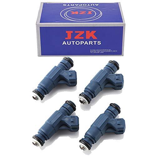 JZK Fuel Injectors 4PCS/SET 0280156065 MP40092 for 00-06 AUDIs Volkswagon 1.8T Passat Jetta Golf