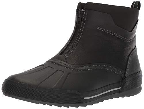 Clarks Men's Bowman Top Boot, black leather, 110 M US (Garden Mens Boots)