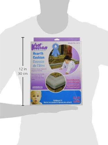 KidKusion Hearth Cushion, Taupe by KidKusion (Image #6)