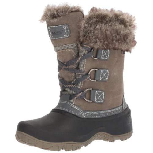 Cheap Khombu New Womens Slope All-Terrain Winter Boots Grey Size 7 M khombu slope boots