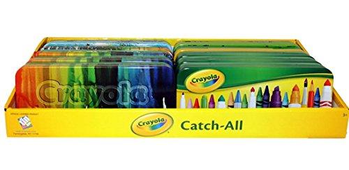 Crayola Marker/Pencil Holder Tin Pencil Case x 2