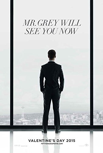 Fifty Shades of Grey Movie Poster Style A 2015 Unframed