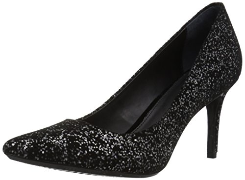 - Calvin Klein Women's Gayle Black Cosmic Glitter 9 M US