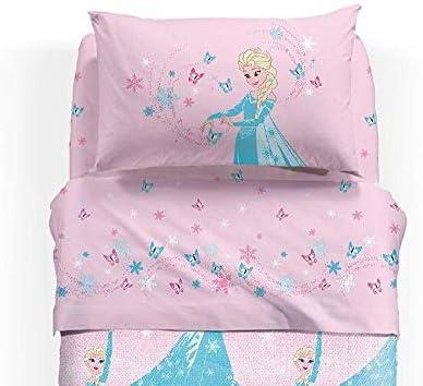 Lenzuola Delle Principesse Disney.Disney Completo Lenzuola Principesse Frozen Magic Una Piazza E Mezza Rosa Caleffi