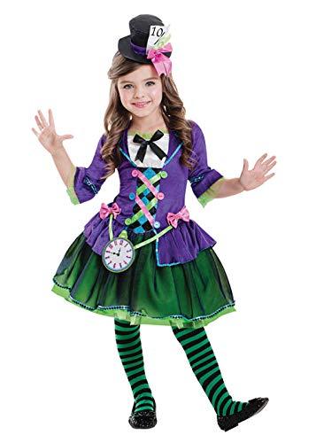 5985700ac92ba Amscan Disfraz de gótico Sombrerero Loco gótico para niños XL (11-12 Years)
