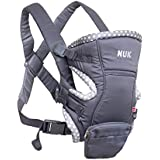 Baby Carrier Natural Fit 3 em 1, NUK, Cinza