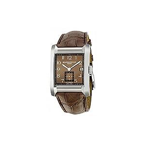 Baume Mercier Men's 10028 Hampton Mens Brown Leather Strap Automatic Watch