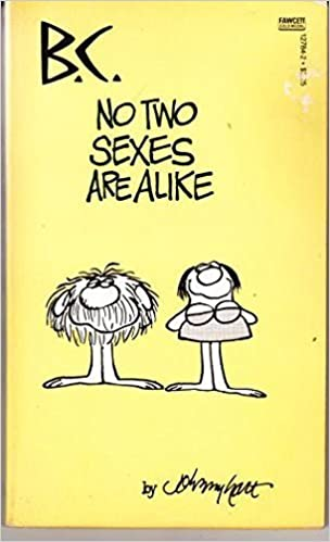 Book BC No Two Sexes Alike by Johnny Hart (1984-07-12)