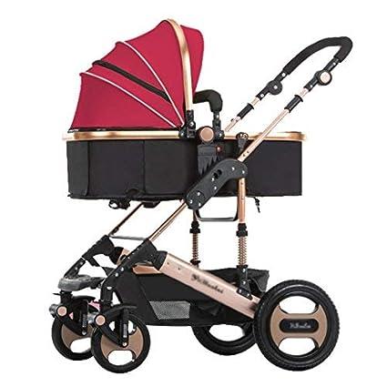 Cochecito de bebé Sillas de paseo High Landscape Can Sit Can ...