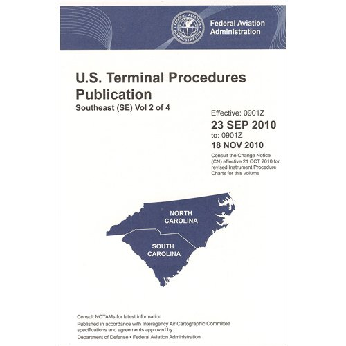 IFR Terminal Procedures South East V2 Bound (June 30, 2011 through August 25, 2011)
