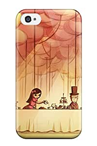Evelyn C. Wingfield's Shop 7195694K45782408 New Style Case Cover Having Tea Compatible With Iphone 4/4s Protection Case