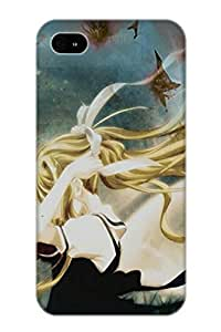 Freshmilk High Grade Flexible Tpu Case For Iphone 4/4s - Anime Air Misuzu Kamio( Best Gift Choice For Thanksgiving Day)