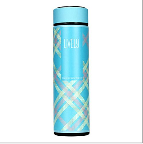 Office Tea Water Coffee Bottle Stainless Steel Cup Travel Mug by Travel Mugs