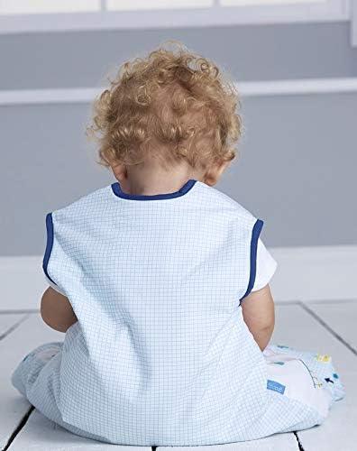 2,5 tog Space Bugs dise/ño de cremallera frontal 100/% algod/ón unisex saco de dormir Grobag Saco de dormir para beb/é 6-18 meses