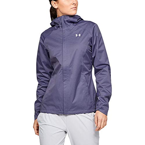 Under Armour Outerwear Women's UA Overlook Jacket, Purple Luxe (520)/Purple Ace, Medium