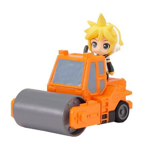 ねんどろいどぷらす ボーカロイド 激走プルバックカー レン&ロードローラー(オレンジ)の商品画像