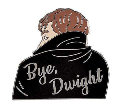 Pinsanity Vampire Jim 'Bye, Dwight' Enamel Lapel Pin -