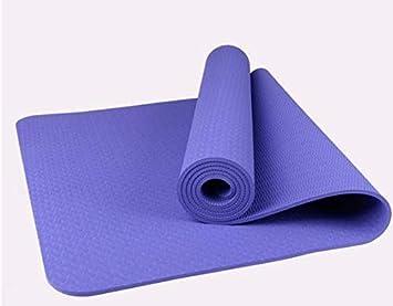 Colchoneta de yoga con materiales ecológicos. Cuerda neta ...