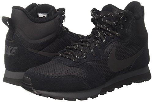 Nero black Nike Md Da Mid Runner 2 Prem Ginnastica Scarpe black anthracite Uomo wazwPFqnTx
