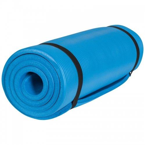 Gorilla Sports Yogamatte in verschiedenen Farben und Größen, Royal, 190 x 60 x 1.5 cm, 10000541;508