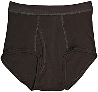 Mark-on Brown Brief For Men