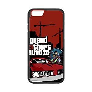 Grand Theft Auto Iii Game iPhone 6 4.7 Inch Cell Phone Case Black TPU Phone Case SV_272476