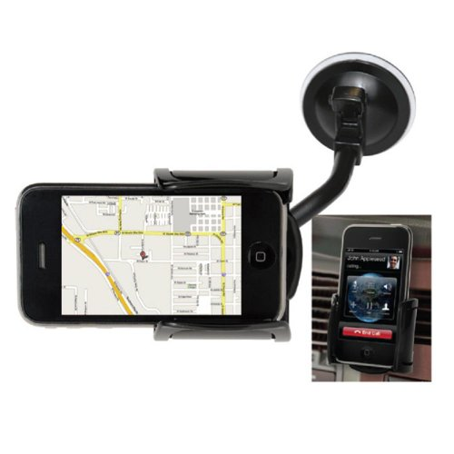 SCOSCHE snapFIT- Window and Vent Mount for iPod and iPhone
