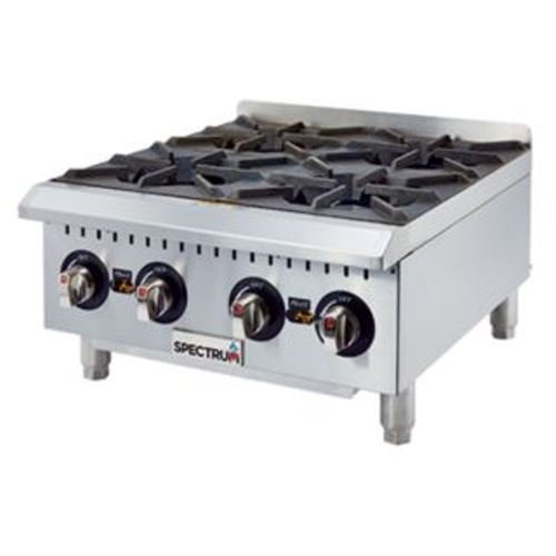 Winco GHP-4 Spectrum Hot Plate gas countertop 24''