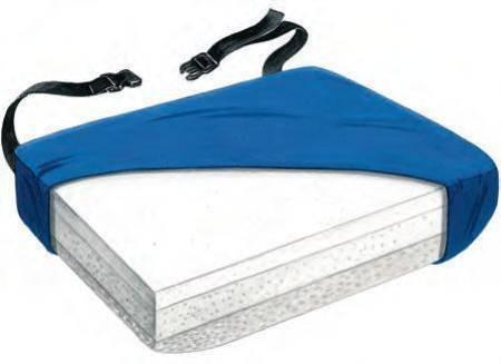 Alimed Seat Cushion Bari-Foam 18 X 22 X 4 Inch Foam