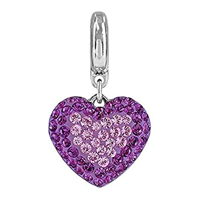 55075030440dc SWAROVSKI pave Star Charm White Opal, Moonlight Color Stainless ...
