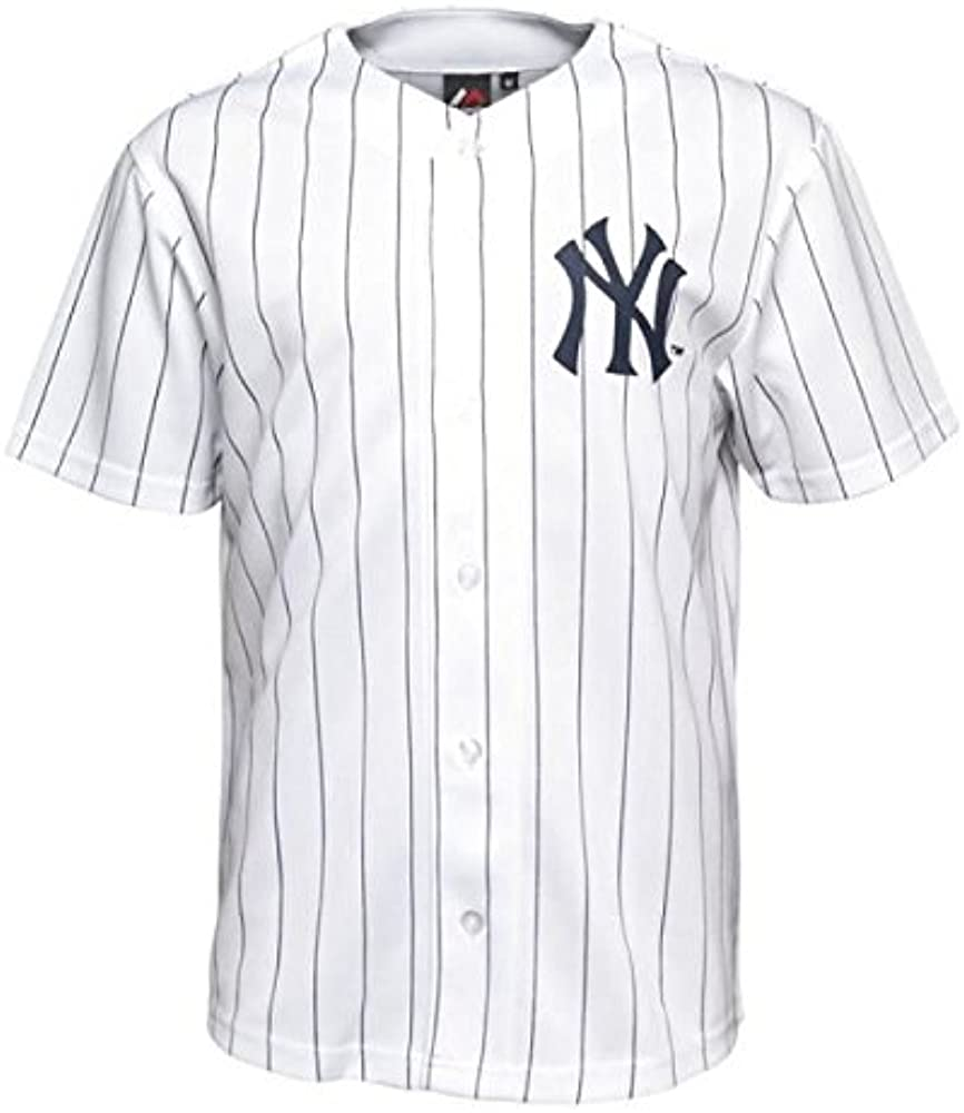 Majestic Camisa MLB New York Yankees WH L: Amazon.es: Ropa y accesorios